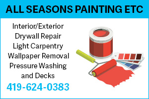 All Seasons Painting Ad