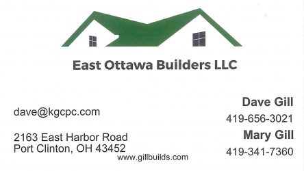 East Ottawa Builders Card